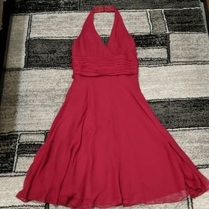 NWT London Times Burgundy/Red Dress Size 6